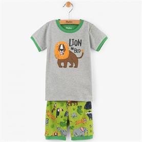Pijama Safari Adventure Appliqué Organic Cotton PJUSAFA Hatley