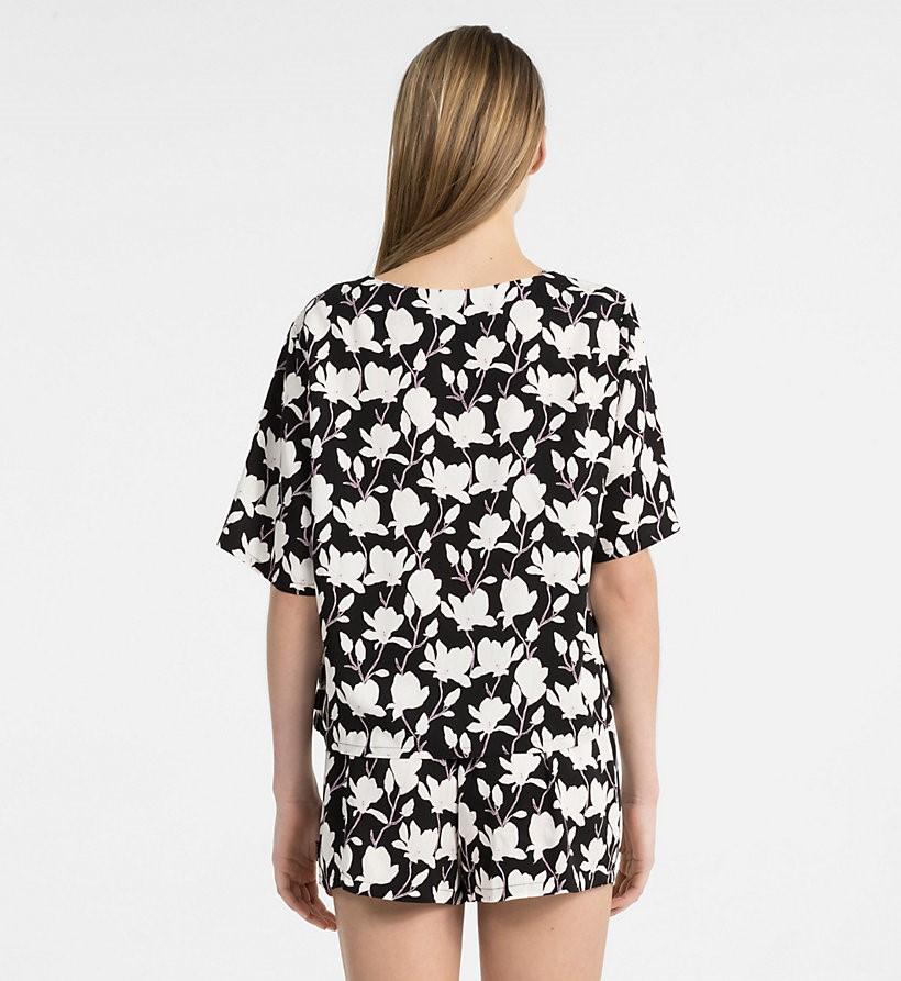 0c4b6c733c ... detall Samarreta Pijama QS6039E Calvin Klein Dona Roba interior Bonet