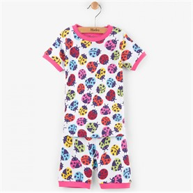Pijama Rainbow Ladybirds Organic Cotton PJWBUGS Hatley