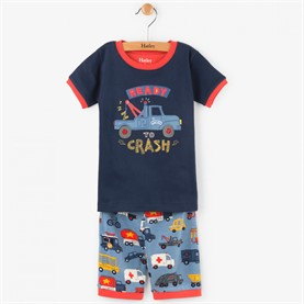 Pijama Rush Hour Appliqué Organic Cotton PJUAUTO Hatley