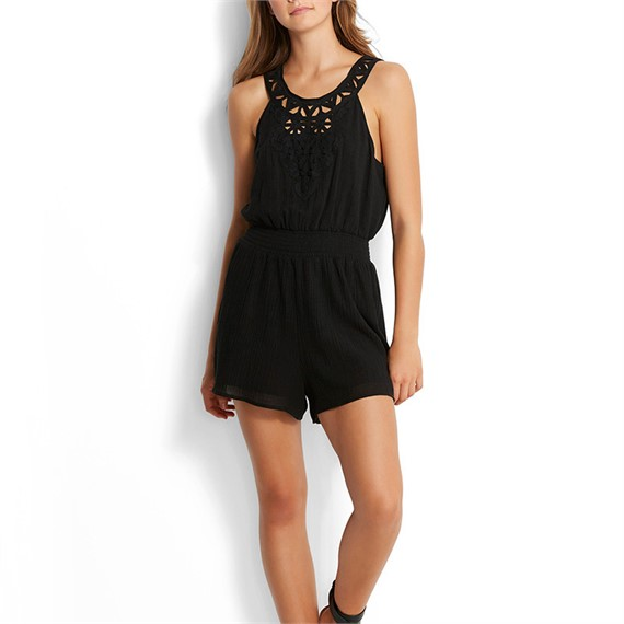 Mono Geo Lace Playsuit 53224-PS Seafolly