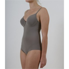Body de Tirantes 40376 Gemma color metalico