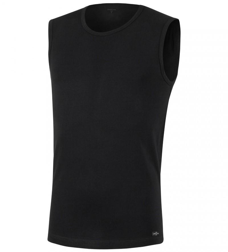 dea7c6466ad ... Camiseta Impetus Cotton Stretch Sin Mangas color negro ...